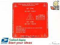 MK2B PCB Hot Bed Heated Bed for RepRap 3D Printers Prusa i3 12V / 24V 214 x 214