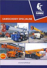 Kamaz Mobile Cranes brochure 2016