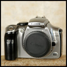 CLEAN Silver Canon EOS 300D Digital SLR Camera + charger battery FREE UK POST