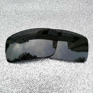 Black Polarized Replacement Lenses For-Oakley Gascan Sunglass
