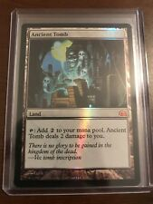 Magic the Gathering FOIL ANCIENT TOMB MTG FROM THE VAULT REALMS FTV NM