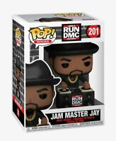 Funko Pop! Rocks Run DMC #201 Jam Master Jay Collectible Vinyl Figure NEW IN BOX