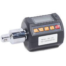 Audio Led Digital Display Torque Wrench 12 Torque Meter Drive Peak Mode Black