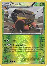 Crustle Uncommon Reverse Holo Pokemon Card BW5 Dark Explorers 8/108