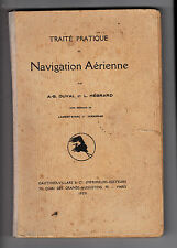 Traité pratique de navigation aérienne - Edition 1928
