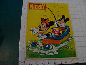 vintage Le Journal de MICKEY --FRENCH COMIC BOOK/MAGAZINE #942 MINNIE COVER