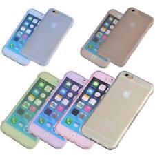 Fundas con tapa transparente de piel para teléfonos móviles y PDAs