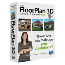 Turbo Floor Plan Deluxe 17 - 3D Home & Landscape CAD Design TurboFloorPlan