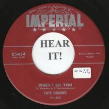 Fats Domino R&B 45 (Imperial 5454) When I See You /What Will I Tell My Heart  M-