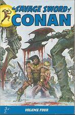 THE SAVAGE SWORD OF CONAN VOLUME 4 dark horse comics