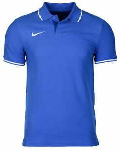 Nike Fußball Sport Herren Poloshirt Team Club 19 Polohemd T Shirt neues Model
