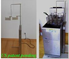 automatic basket lift 4 fast food cook machine processing commercial fryer