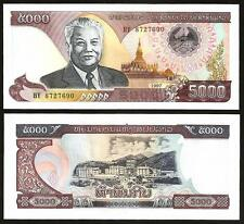 LAOS 5,000 5000 Kip 1997 UNC P 34 a