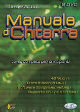 VARINI MASSIMO MANUALE DI CHITARRA GUITAR MUSICA ■ DVD ITALIANO