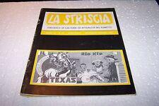 LA STRISCIA anno IV n°22 - settembre 1984 - IL CAVALIERE DEL TEXAS - raro -