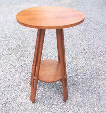 Trespolo tavolino PORTAVASO Art Decò a due piani