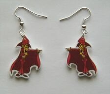 New Retro Captain Cruch Cereal  Count Chocula  Earrings  Halloween