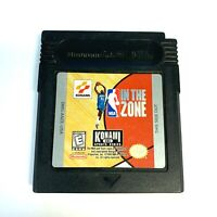 NBA: In the Zone Nintendo Game Boy Color Tested WORKING Authentic!