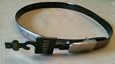 Womens Lauren Ralph Lauren Black or Silver Reversible Belt Womens Size Small