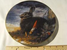 Rien Poortvliet Collector Plate Gnome Four Seasons The Lookouts. Fall. Rabbit.