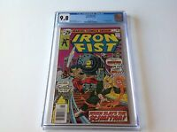 IRON FIST 5 CGC 9.8 WHITE PAGES 1ST APPEARANCE SCIMITAR ANGAR APP MARVEL COMICS