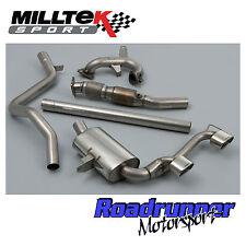 Milltek megane 230 R26 F1 Turbo Completo de Escape atrás bajante Sport Cat & Gato de vuelta