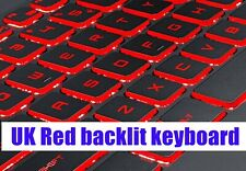 UK Red backlit keyboard for MSI GV72 7RD/GV72 7RE(MS-1799)/GV72 8RD(MS-179F)