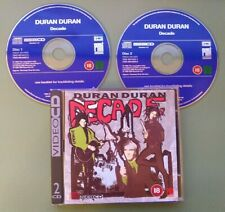 DURAN DURAN 2 VCD Video CD DECADE COMO NUEVO EMI 1995