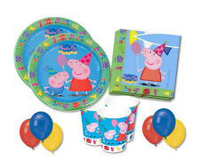 IRPot - KIT N 22 ACCESSORI FESTA GEORGE PEPPA PIG COMPLEANNO BAMBINI PARTY