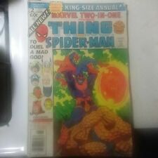 1977 Marvel Two-in-one Presents The Thing And Spider-Man Volume One Issue 2