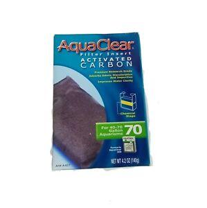 Aquariums Filter Aqua Clear 70 Activated Carbon Insert For 40 - 70 Gallon