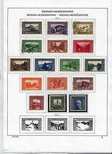 1906/10 Landschaftsbilder und Gedenkausgabe sauber Gestempelt ANK 29 - 60