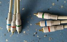 New listing Component Video Cable 3-Rca Hdtv Rgb Gold - 3Ft