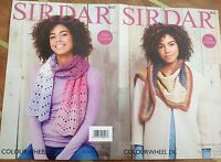 Sirdar Colourwheel Double Knit Crochet Pattern for accessories/Scarf - 8027