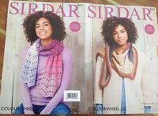 Sirdar Colourwheel Doppia Maglia Motivo per Uncinetto accessori/Sciarpa - 8027