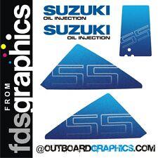 Suzuki DT55hp outboard graphics/sticker kit