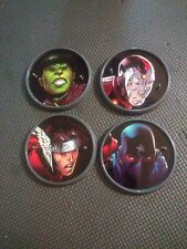 2006 Marvel Legends Young Avengers Action Figure Stands - Patriot Hulkling