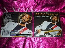 ERIC CLAPTON : SHE'S SO RESPECTABLE : (CD, 12 TRACKS)