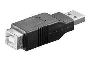 ADATTATORE USB A MASCHIO/B FEMMINA