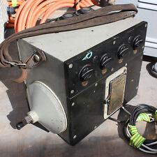 Bridge Meg Megger high voltage insulation resistance tester vintage 1000V case