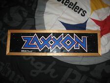 Zaxxon video game light box marquee