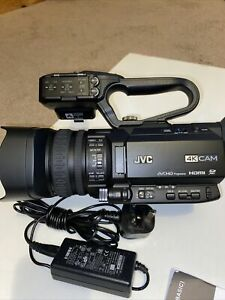JVC GY-HM170E 4k Camcorder Mint Condition With Only 42 Hours