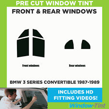 Pre Cut Window Tint - BMW 3 Series Convertible 1987-1989 - Full (Front & Rear)