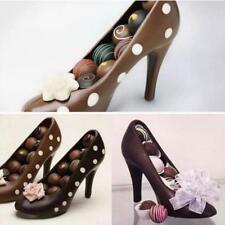 3D DIY High heel Schuh chocolate Candy-Backform dekorieren Jelly Eis SoapMold ~