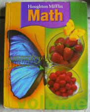 Houghton Mifflin MATH, gr.3/3rd text only HC Nice