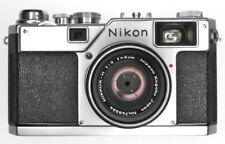 Nikon RF S4 with 5cm f2  #6504293,748584 ............ Rare !!
