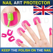 26x Nail Art Polish Protector Tool Set Finger Cover Shield Manicure Design Tips