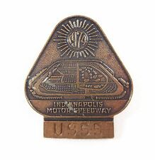 1974 Indianapolis 500 Bronze Pit Badge #U955 Johnny Rutherford McLaren/Offy