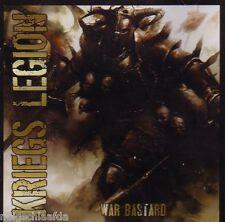 KRIEGS LEGION - WAR BASTARD CD oi! punk rogues rival rebel hell liberty 37