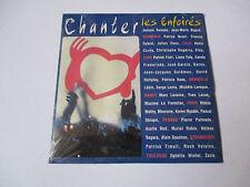 Les enfoirés - chanter- cd single 2 titres 2000 (neuf scellé)